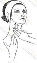 Вечерняя очистка кожи шеи